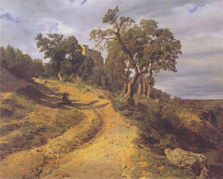 the-ruin-lichtenstein-at-m-dling-1848