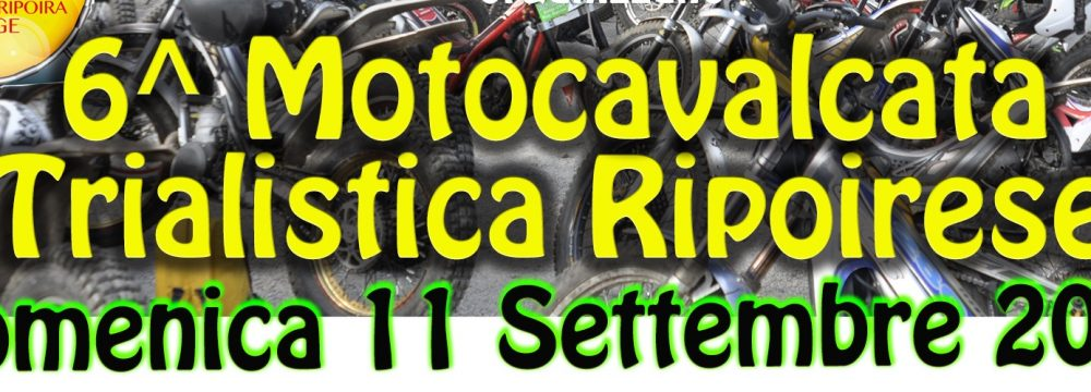 6° RITROVO TRIAL RIPOIRESE BARGE (CN) … 11-9-2016