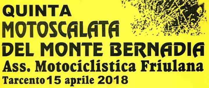 MULATRIAL MONTE BERNADIA …. 15/04/2018