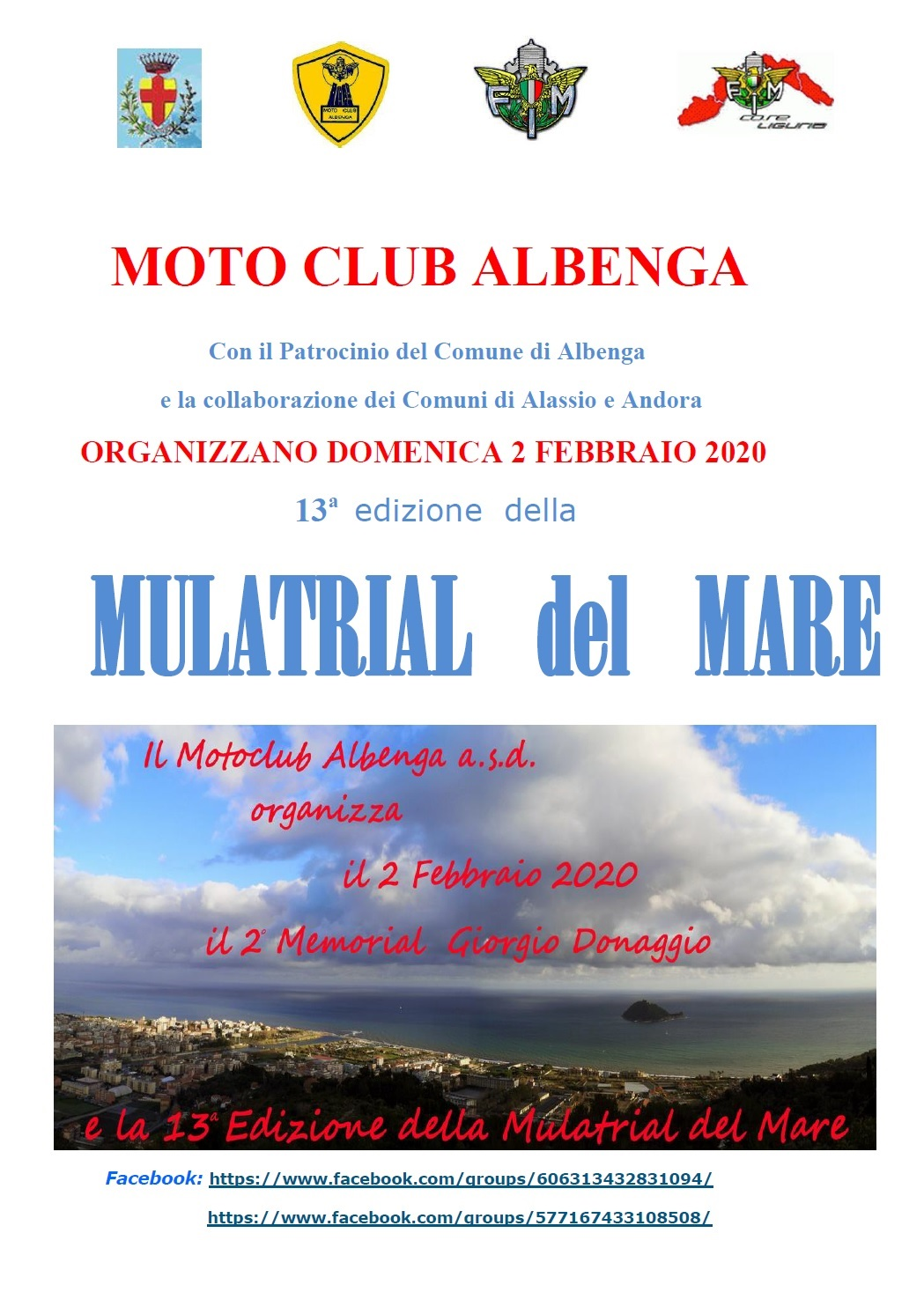 MULATRIAL DEL MARE ALBENGA (SV)…..2020